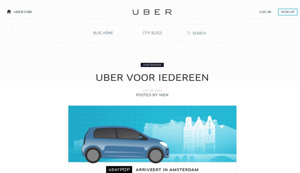 Goochelt UberPOP met aankomsttijden?