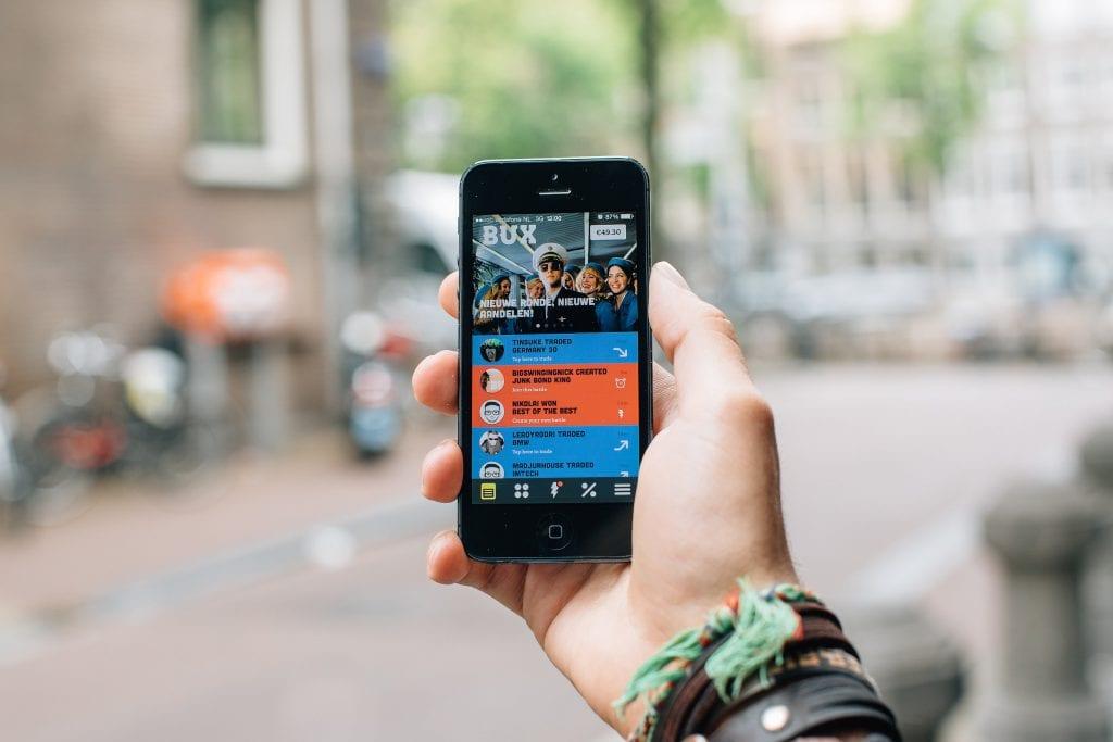 Fintech startup BUX telt 100.000 app downloads in een half jaar