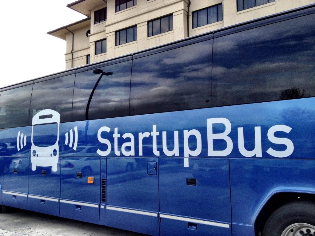 De magie van Startupbus