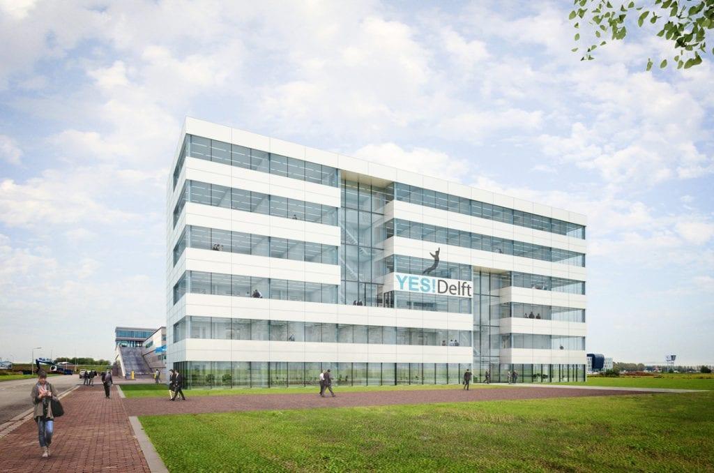 Uitbreiding incubator YES!Delft begonnen, bouw nieuw pand gestart