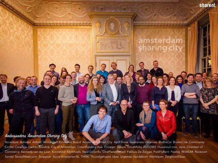 'Amsterdam moet Europese hoofdstad voor deeleconomie worden'
