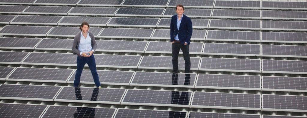 Zonnepanelendelen sleept een half miljoen euro financiering binnen