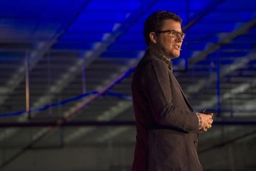 Lean Startup-goeroe Eric Ries wordt aanbeden in Amsterdam