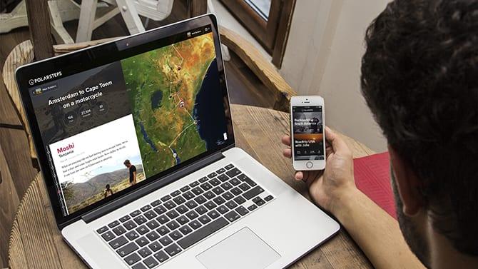 Amsterdamse startup Polarsteps lanceert app om automatisch je reis bij te houden