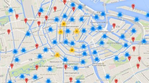 Wie, wat en waar? StartupAmsterdam lanceert interactieve startup-kaart