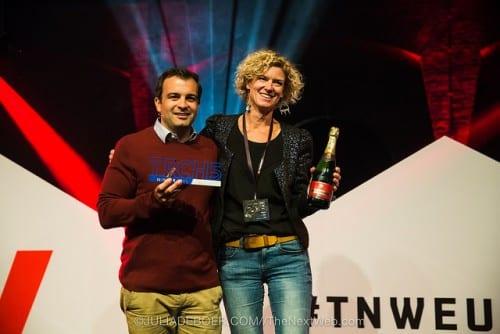Fairphone gekroond tot snelst groeiende startup van Europa op #TNW15