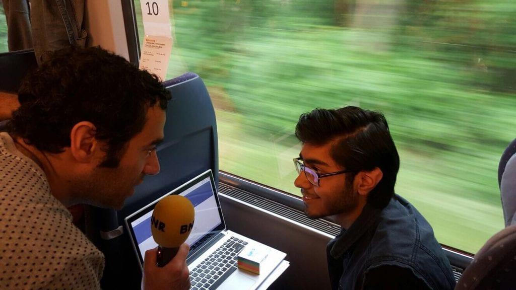 In 6,5 uur een app bouwen: welkom aan boord van de eerste Hackatrain