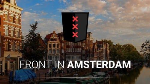 Front-end developers verzamelen zich op Front in Amsterdam [met korting]