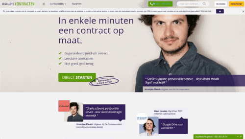 Half miljoen euro voor Amsterdamse legal tech startup van ondermeer Marco Aarnink