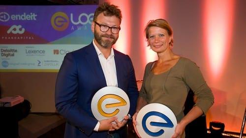Steven Schuurman en Hanneke Stegweg winnen LOEY Awards 2015