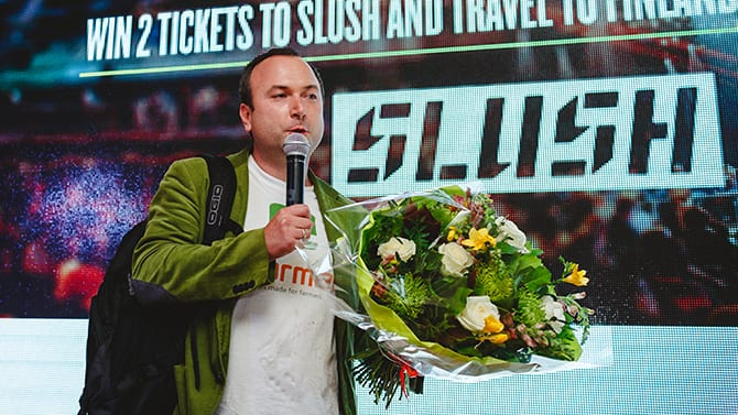 eFarmer, the TomTom for tractors, wins tickets to Slush