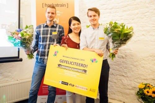 Voor trein gemaakte 'IFTTT' wint eerste Hackatrain