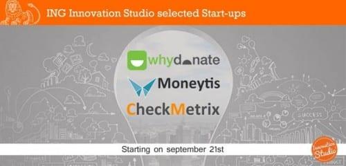 Dit zijn de drie nieuwe startups van de ING Innovation Studio