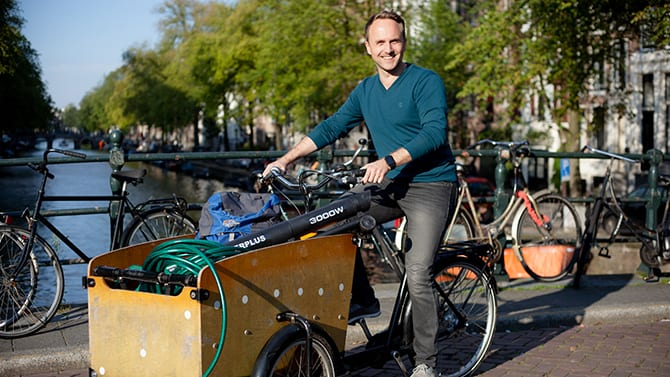 Daan Weddepohl:  'Peerby Go is niet als verdienmodel bedacht'