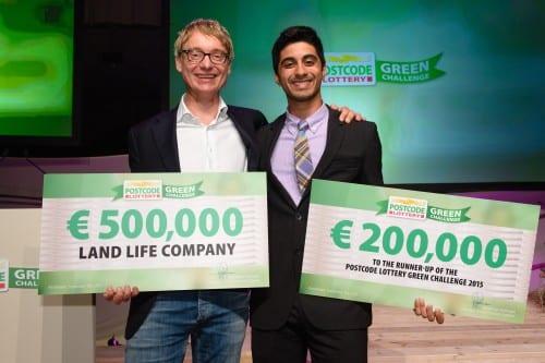 Groene Nederlandse startup wint half miljoen in Postcode Lottery Green Challenge