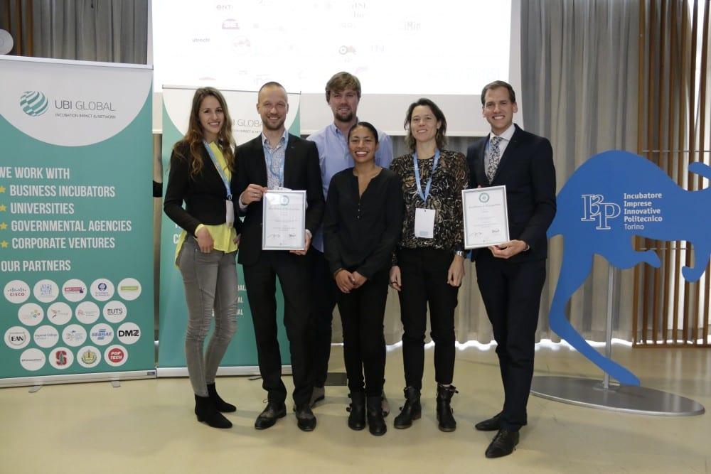 Universitaire tech-incubators Yes!Delft en UtrechtInc bij top van Europa