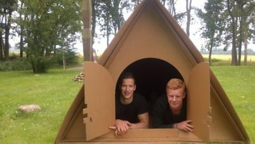 Deze Amsterdamse startup maakt verrassende tenten van karton