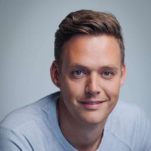 Revue-oprichter Martijn de Kuijper
