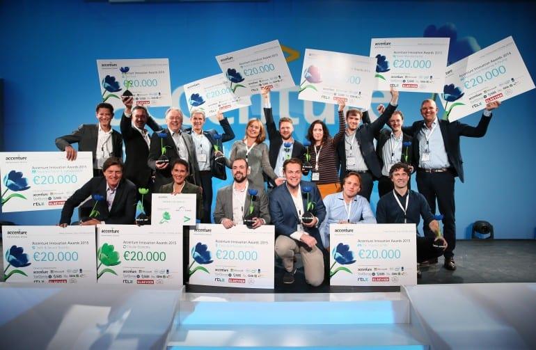 Accenture Innovation Awards: dit zijn de winnende startups van 2015
