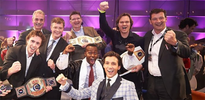 Winnaars van Get in the Ring bekend, mogen pitchen in Londen.