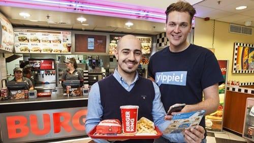 Goeie deal: Amsterdamse startup Yippie draait test bij Burger King in Nederland