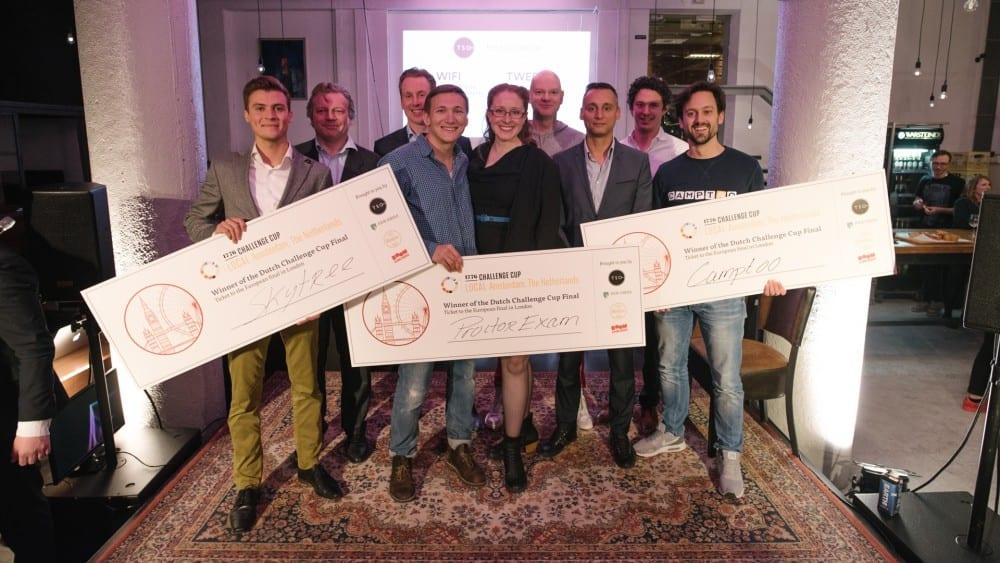 Deze drie Nederlandse startups strijden verder om een miljoen dollar