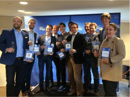 Dit zijn de winnaars van de European FinTech Awards