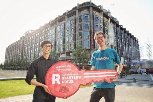 Tinybots wint Rotterdamse Startersprijs 2016