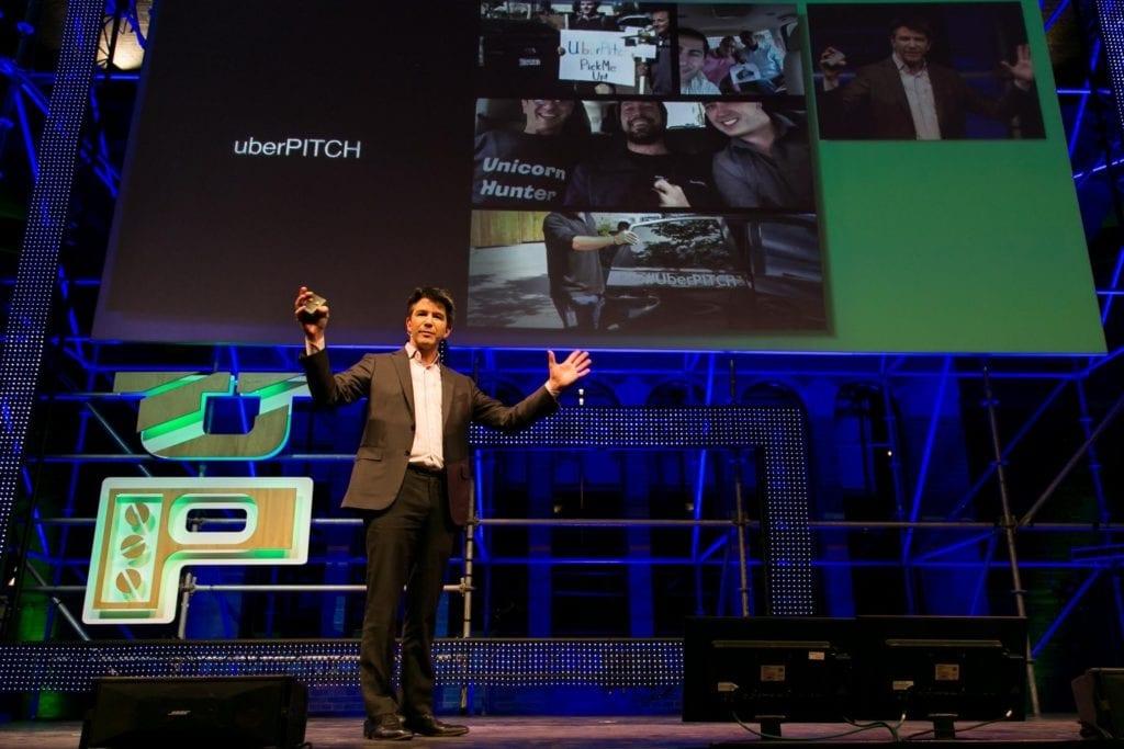 Uber CEO Travis Kalanick brings UberPITCH to Amsterdam and Rotterdam