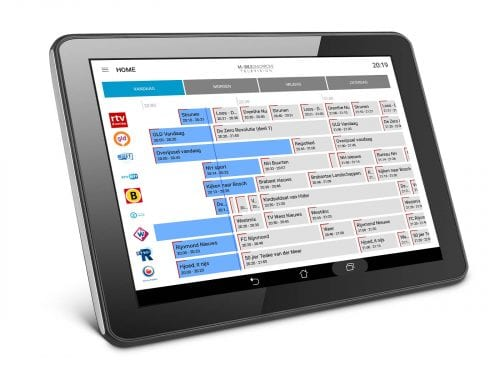 tablet epg