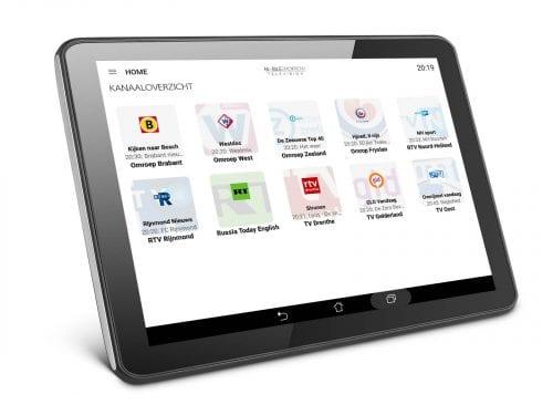 tablet zenderoverzicht