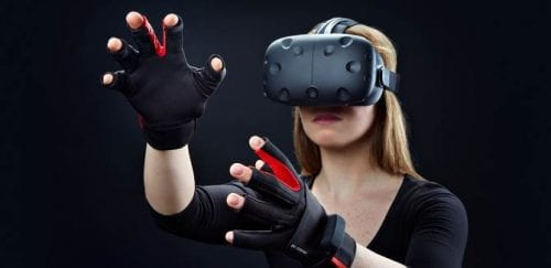 Even NASA gets to use the Manus VR-glove from Eindhoven