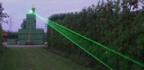 EU appoints Bird Control to put up a Laser Fence