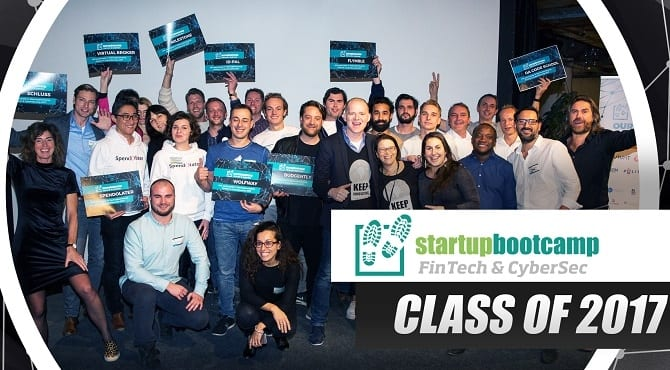 Startupbootcamp selects 11 startups for 2017 FinTech and CyberSecurity program
