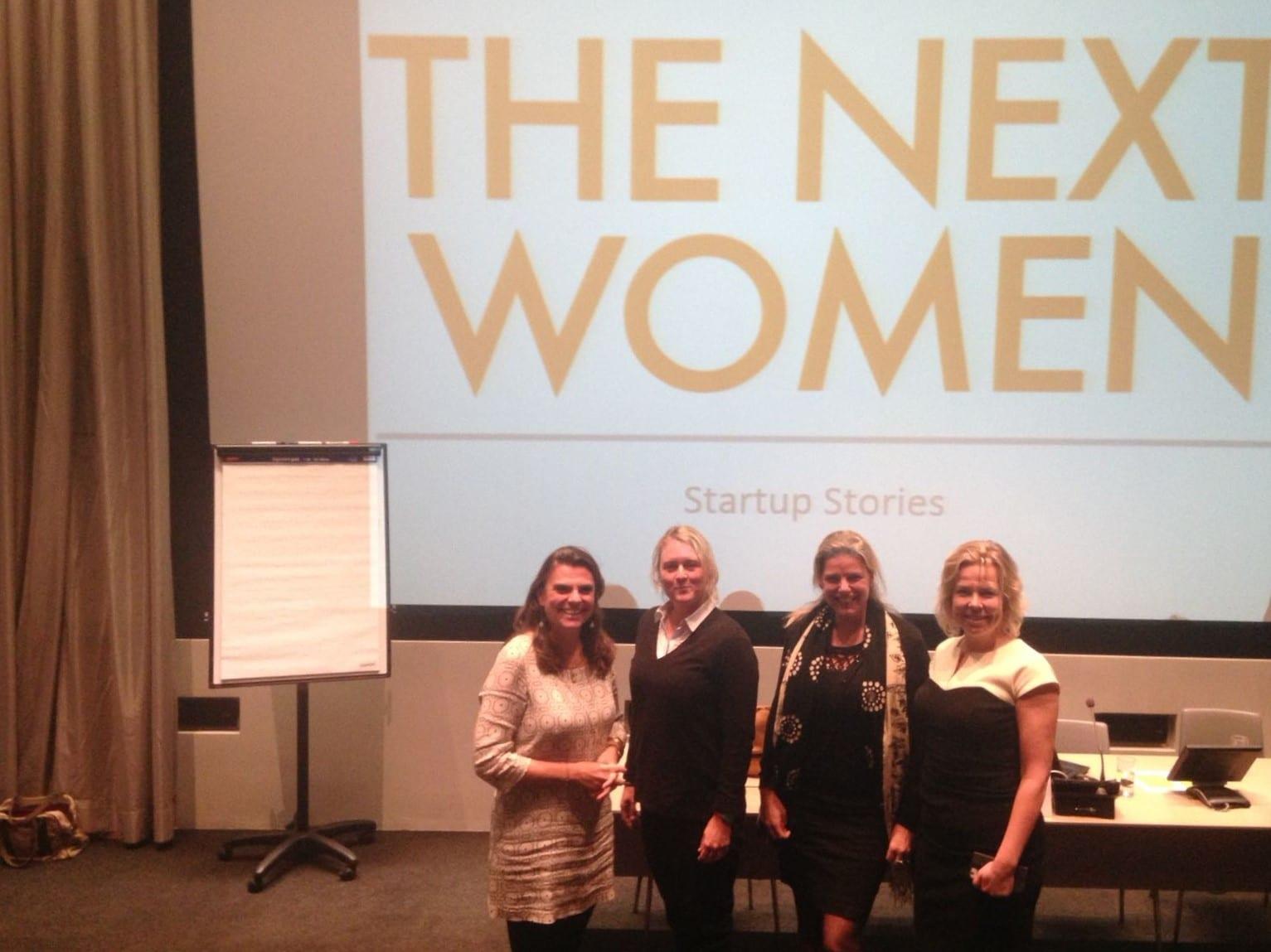 TheNextWomen encourages women to develop their business ideas