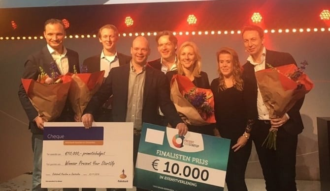 NoFoodWasted wins Haarlem Valley Present Your Startup 2016