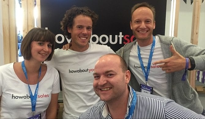 Howaboutsales raises €700K to make data exchange efficient. How about that?