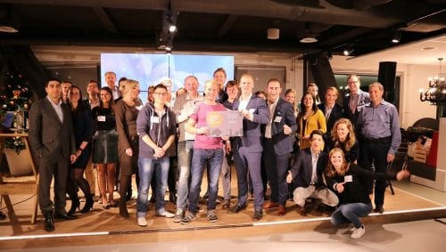 Two teams tie for first place at Startup Launch Class closing event