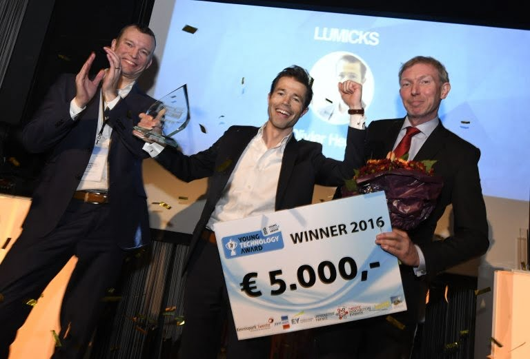 Lumicks wins a €5,000 prize in the Young Dutch Startup Award