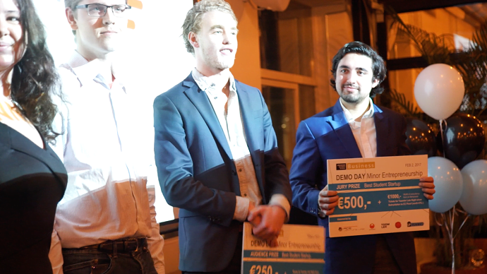 Student startup HurryQ big winner of Demo Day