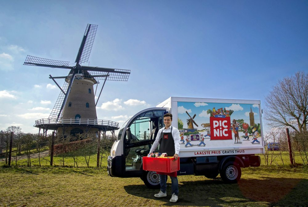 "Dutch ""modern milkman"" Picnic raises a staggering €100M from some of the country's wealthiest families"
