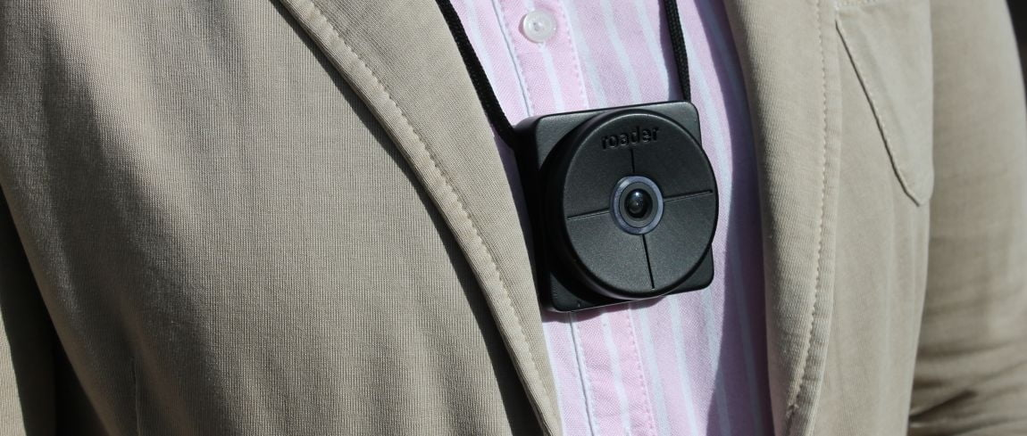 "Dutch startup Roader prepares to launch a wearable dashcam that allows ""time travel"""