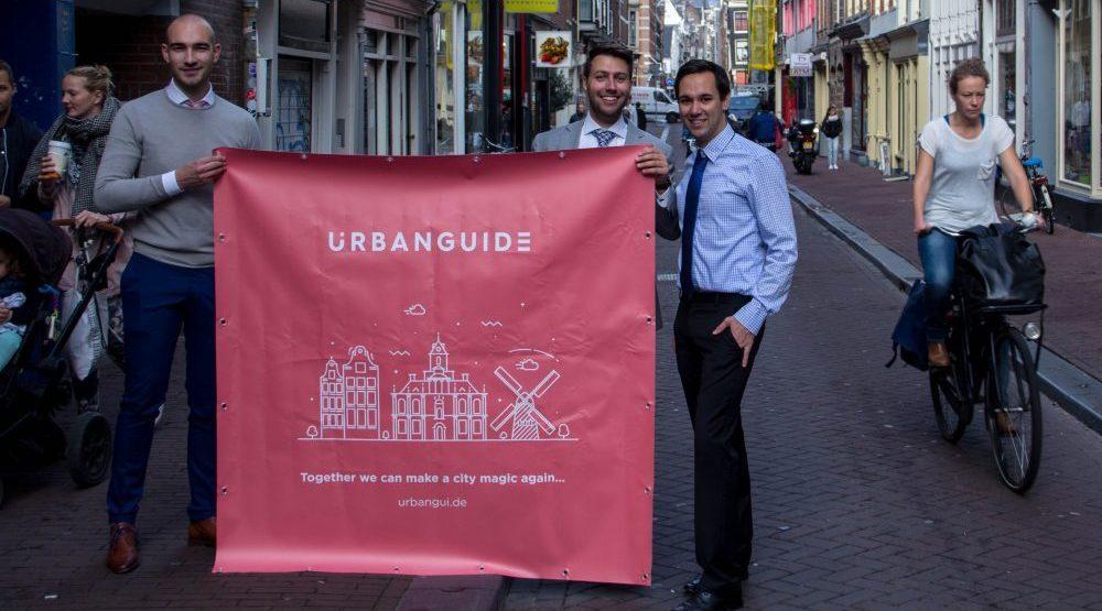Dutch startup UrbanGuide could solve Amsterdam's mass tourism