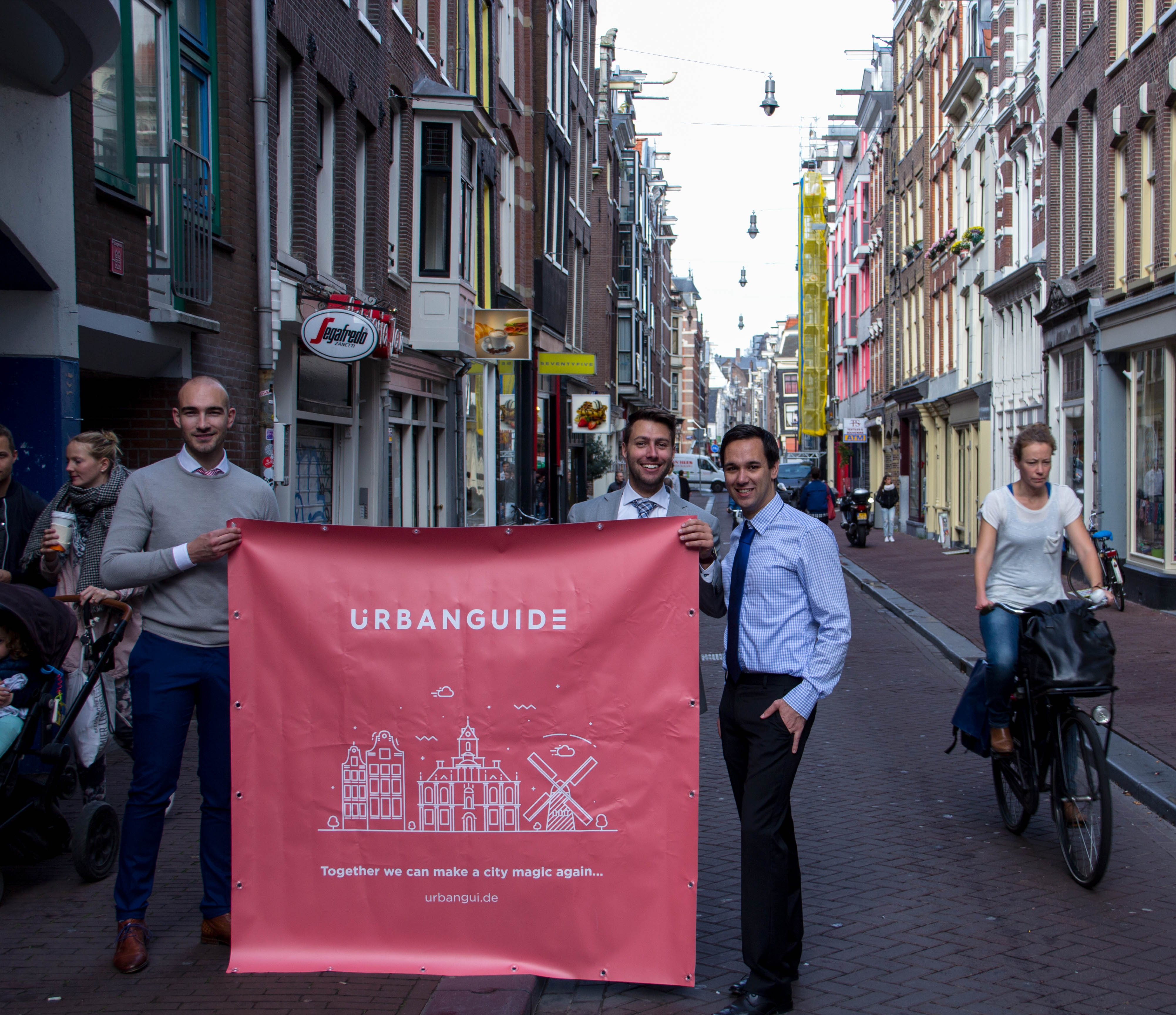 Dutch startup UrbanGuide could solve Amsterdam's mass tourism