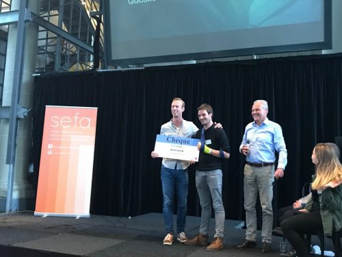 Stairway to Travel wins the Amsterdam Startup Challenge