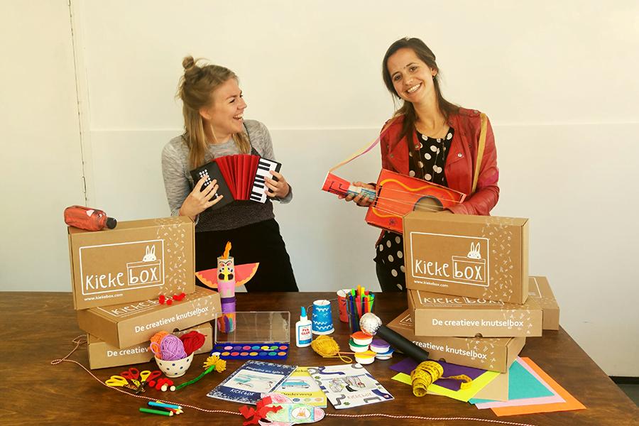 Kiekebox wants to stimulate children to play again