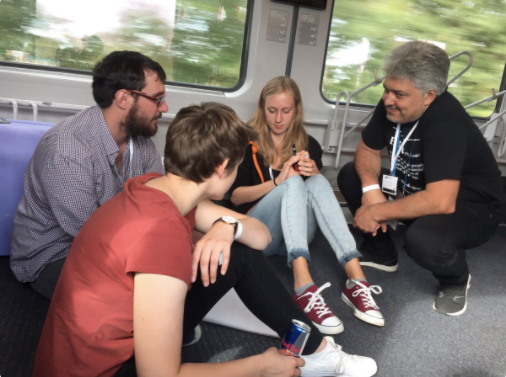 Hackatrain back on track to improve rail passengers' customer journey
