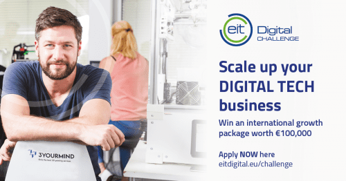 EIT Digital Challenge 2017 gives tech scaleups the chance to become a true European player
