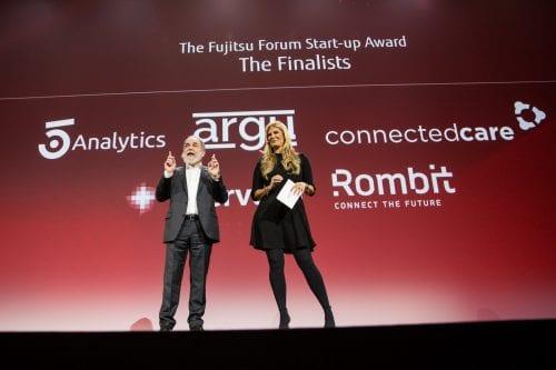 EIT Digital Challenge finalist Rombit wins Fujitsu Startup Awards 2017