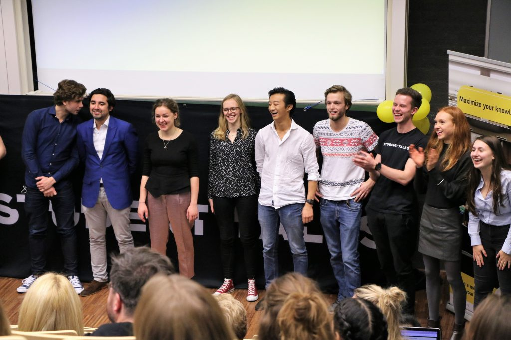 Student Talks event: five motivating speeches for a positive mindset